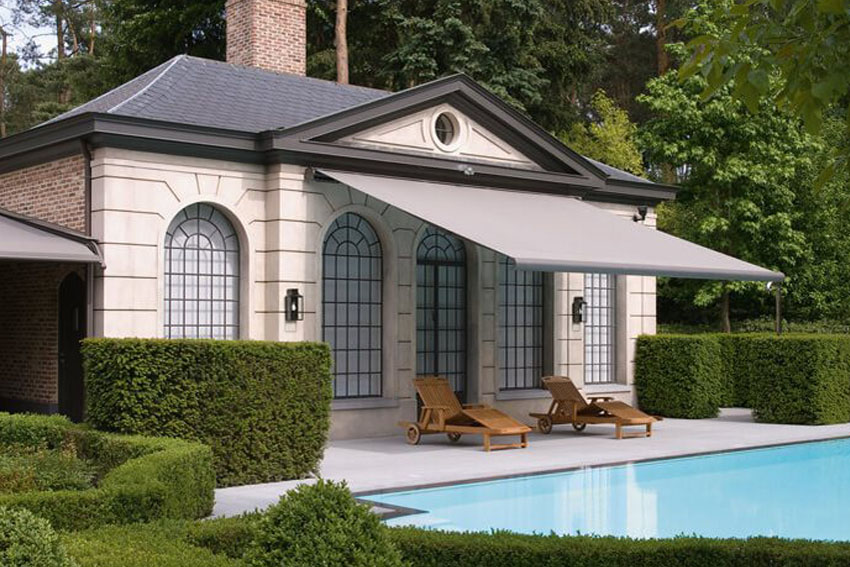 Sonnenschutz-Garten-Pool