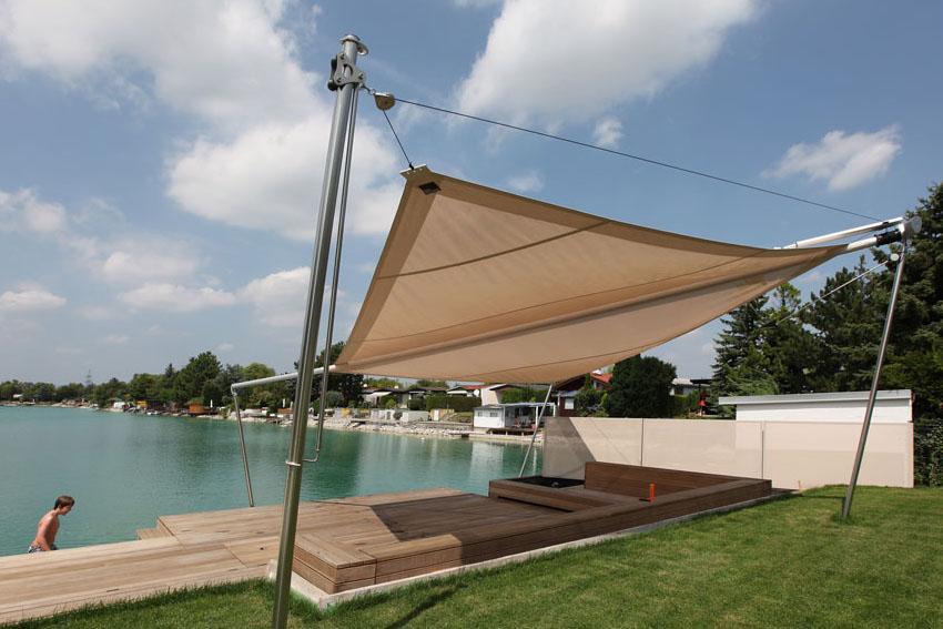 RANKL-Sonnensegel-Badesteg-Sonnenschutz-See-Garten